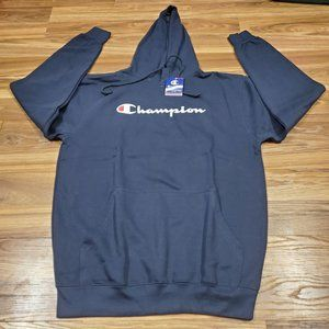 Champion Men's XLT Big and Tall Script Logo Pullov